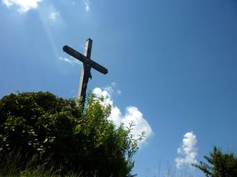 a-cross-against-sky